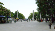 Entrance to the Sea Gardens, Varna, Bulgaria